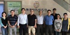 吳明蒼主任於106年2月23日參與中山大學快篩技術研究中心會議