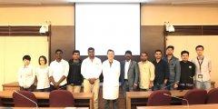 107年1月3日環醫中心邀請印度Dr. Sambandam Anandan蒞臨高醫專題演講